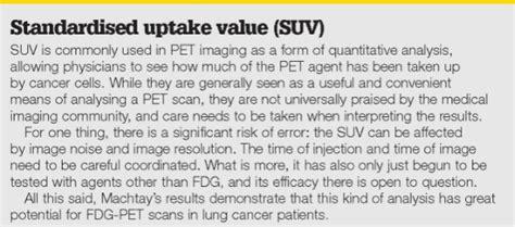 fgd pet  lung cancer prognosis practical patient care