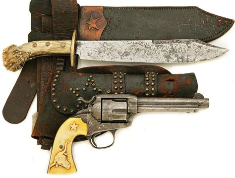 uses for a bowie knife relief engraved ivory handled colt bisley with original