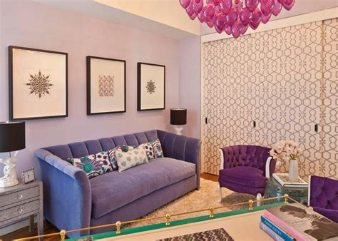 lavender living room purple living space photos hgtv