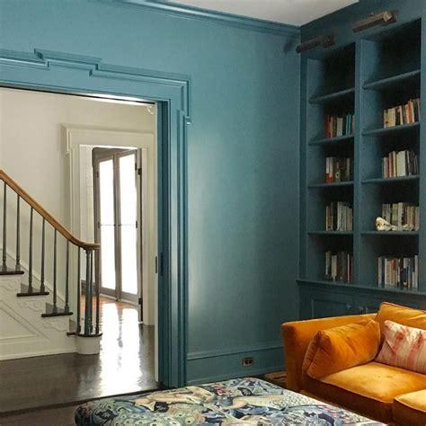 benjamin moore bella blue interiors  color