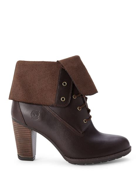 timberland fold boots timberland stratham heights fold boots in brown lyst