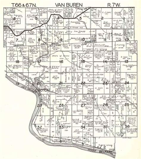 plat maps lee county iagenweb 1930 plat maps by township