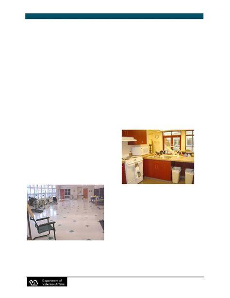 Va Nursing Home Design Guide Rehabilitation Therapy And Clinic