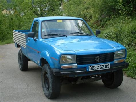 peugeot 504 pickup peugeot 504 pickup 4x4 dangel photos reviews news