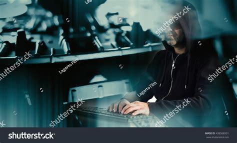 hacker film polski cyber thief hacking computer network stock photo 438568501