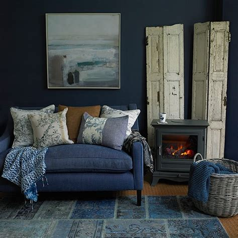 denim living room furniture denim blue living room country living room ideas 30 of