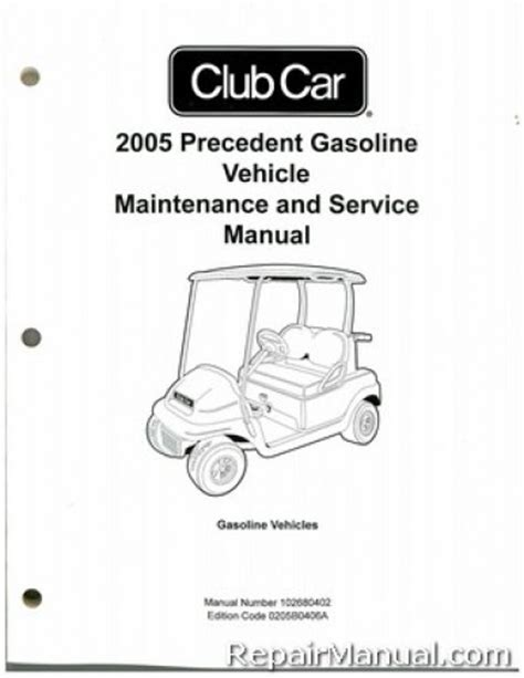 what is the best auto repair manual 2005 dodge ram 2500 engine control 2005 club car precedent gas vehicle golf cart service manual