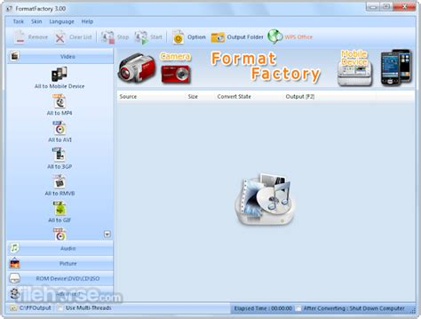 download format factory full version android format factory full 3 3 5 0 free download software