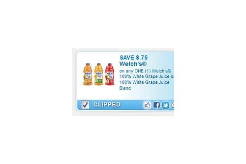 welch's white grape juice coupons