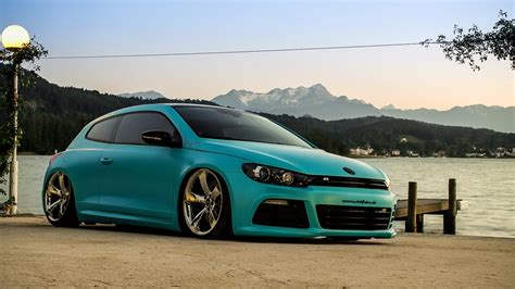 volkswagen scirocco r slammed vw scirocco r with 370ps is as minty fresh as they