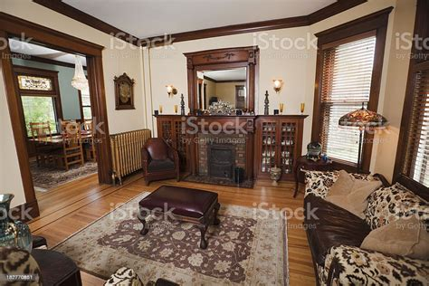 dining  living room   traditional victorian style