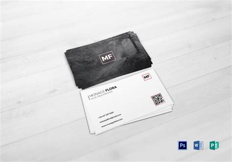Sleek Business Card Templates by Sleek Business Card Design Template In Psd Word Publisher