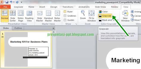 format video untuk power point cara menjadikan desain powerpoint hitam putih greyscale