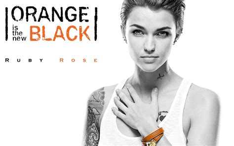 orange is the new black tattoo ruby orange is the new black fashion