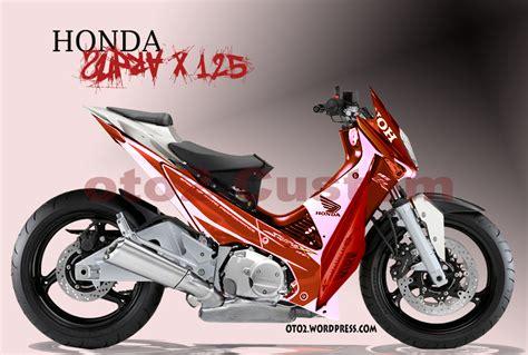 Modif Supra X 125 by Design Honda Supra X 125 Yamaha Vixion Yang Tercecer