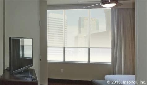 Hotel Window Shades Insolroll