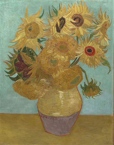 Vase Of Flowers Jan Davidsz De Heem Art History News The Sunflowers Vincent Van Gogh