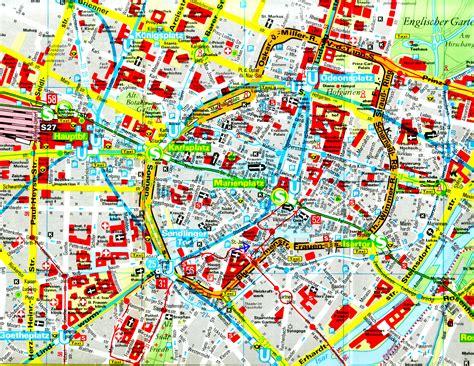 munich map maps of munich map mapa owje