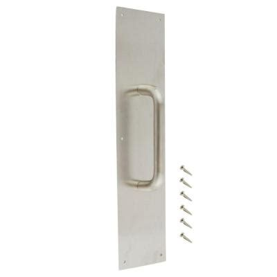 everbilt 4 in x 16 in stainless steel pull plate 14316