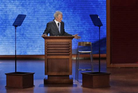 Clint Eastwood Empty Chair by Clint Eastwood Quot Made Our Quot At The 2012 Rnc And