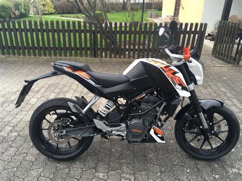 125er Motorrad Duke by Ktm Duke 125 In Kranzberg 80er 125er Leichtkraftr 228 Der