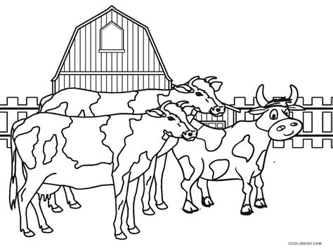 farm coloring pages free printable farm animal coloring pages for