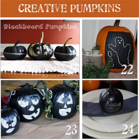 chalkboard paint pumpkin 32 creative ways to decorate a pumpkin tip junkie