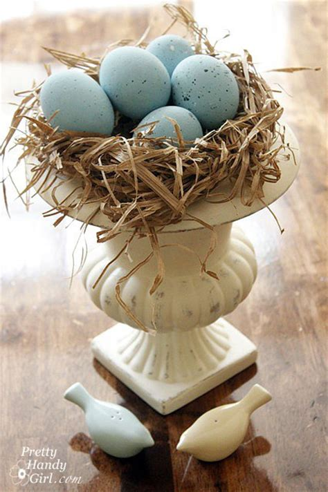 the birdmaker s nest where your treasure will be found safe and sound books faux blue bird eggs and nest eastereggs hometalk