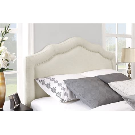 white fabric headboard upholstered headboard excellent mason ii gray upholstered