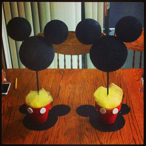 Mickey Mouse Decorations by 17 Best Images About Bayne S 1st Bday Ideas On Mickey Minnie Mouse Mickey Mouse