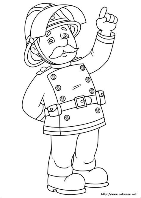 imagenes para colorear bombero dibujos para colorear de sam el bombero