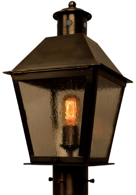 lantern post light outdoor banford post light outdoor rustic copper lantern