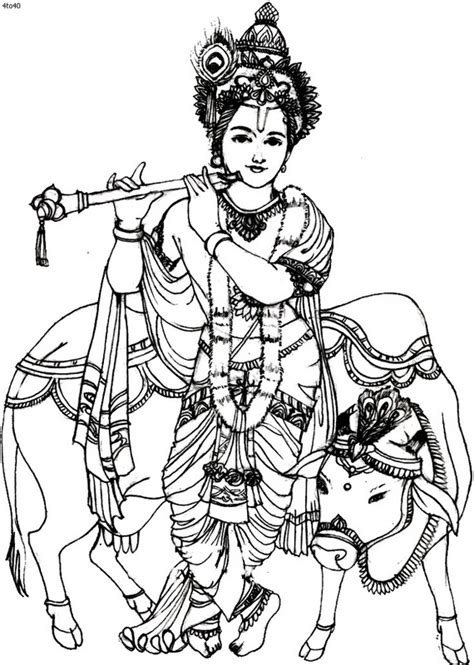 coloring pages of festivals of india janmashtami festival coloring pages family holiday net