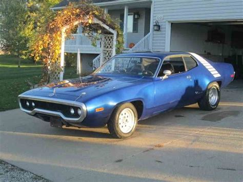 1972 plymouth roadrunner gtx for sale 1972 plymouth road runner for sale classiccars cc