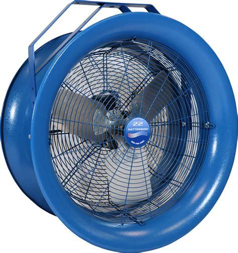 patterson 30 high velocity high velocity fans industrial fans patterson fan