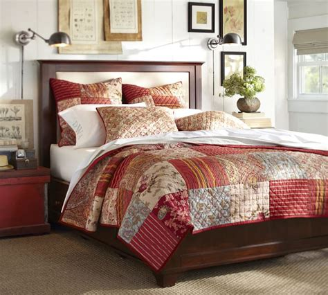 pottery barn linen sheets review patchwork quilt bedspread bedroom and bed reviews