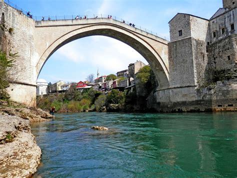 ottoman bosnia bridge mostar bosnia and herzegovina ottoman