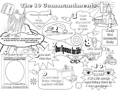 ten commandments coloring pages for toddlers coloring pages lesson kids for christ bible club ten