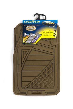 Does Walmart Mats by Premium Goodyear Rubber Mat Set Black Walmart Ca