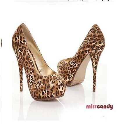 Jual Leopard Dinomarket 174 Pasardino 30 Msp30 Leopard Brown Satin High