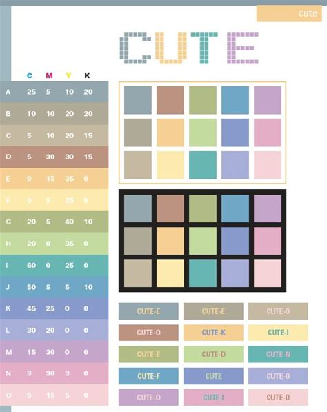 colors schemes 25 best ideas about cmyk color chart on pinterest