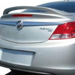 Buick Regal Spoiler Buick Regal Custom Style Pedestal Rear Deck Spoiler 2011