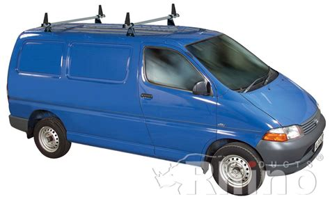 Roof Rack For Toyota Hiace Rhino Delta 2 Bar Roof Rack System For Toyota Hiace