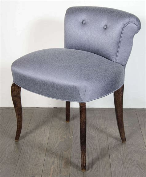 Vanity Chair With Back by 1940 S Scroll Back Vanity Chair Stool With