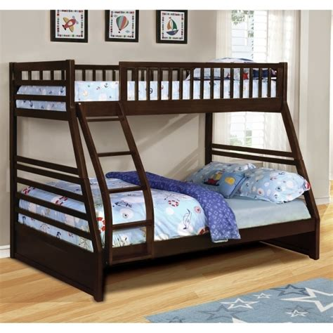 bunk beds full over queen full over queen bunk bed wildon home dakota twin over full