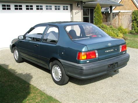 how to fix cars 1993 toyota tercel seat position control 1993 toyota tercel 2 door for sale cumberland courtenay comox