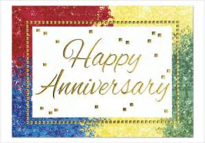 2nd Anniversary Card Template by 9 Work Anniversary Cards Free Sle Exle Format