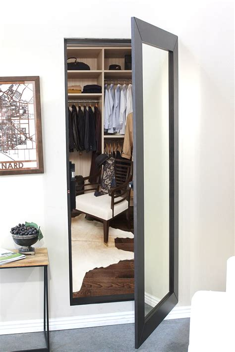 How To Hide A Closet Door Easily Hide An Entire Room Or Closet With Our Pre Assembled Mirror Door Use The Same