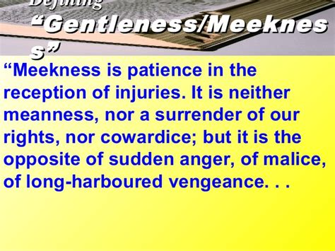 8 fruits of the spirit 8 fruit of the spirit meekness