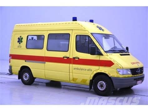 used mercedes sprinter 312 ambulances year 1998